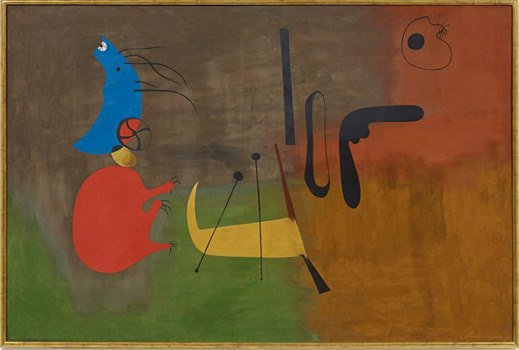 Joan Miro Painting March 13 1933
