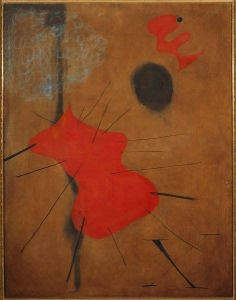 Joan Miro Painting The Red Spot 1925