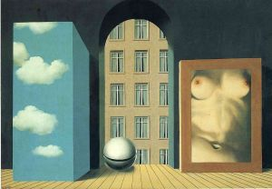 Magritte Act Of Violence