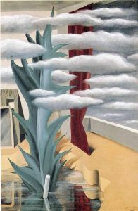 Magritte After The Water The Clouds