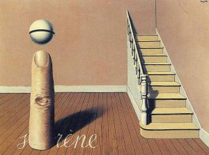 Magritte Forbidden Literature The Use Of The Word