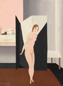 Magritte Nude 1925