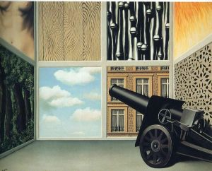 Magritte On The Threshold Of Liberty