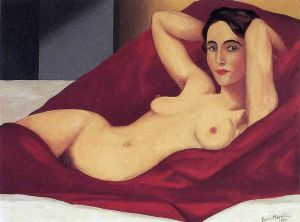 Magritte Reclining Nude