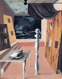 Magritte The Difficult Crossing
