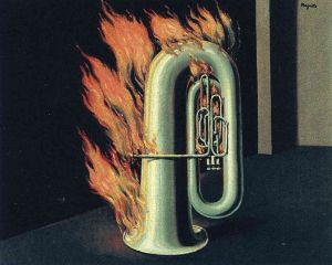 Magritte The Discovery Of Fire
