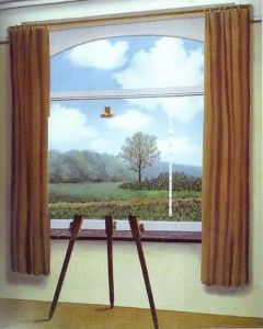 Magritte The Human Condition - Version 2