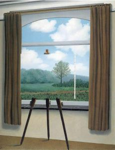 Magritte The Human Condition - Version 3