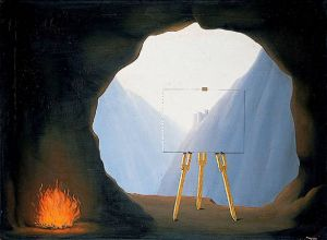 Magritte The Human Condition 1935