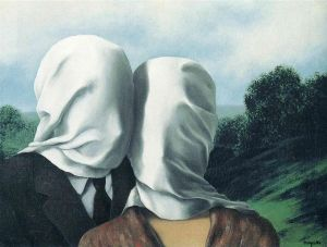 Magritte The Lovers 2