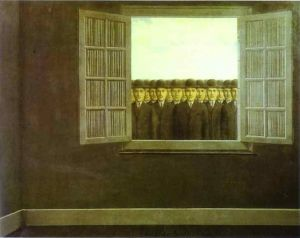 Magritte The Month Of The Grape Harvest
