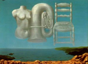 Magritte Threatening Weather