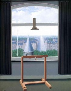 Magritte Where Euclide Walked