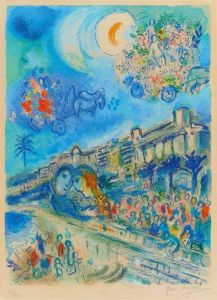 Marc Chagall Carnaval Of Flowers - 1967