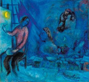 Marc Chagall Hommage To The Past Or The City