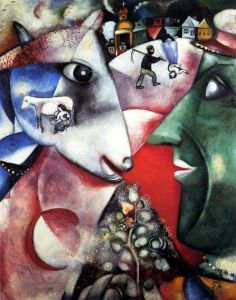 Marc Chagall Me And The Village