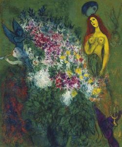 Marc Chagall Nude With Child - 1949