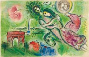 Marc Chagall Romeo And Juliet - 1964