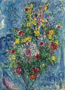 Marc Chagall Spring Bouquet - 1966-67