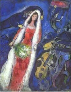 Marc Chagall The Bride