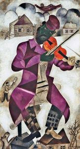 Marc Chagall The Green Violonist