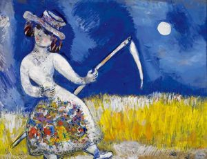 Marc Chagall The Mower - 1926