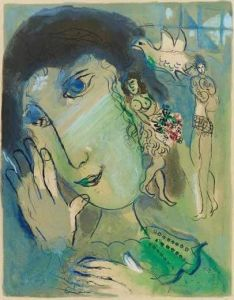 Marc Chagall The Poet