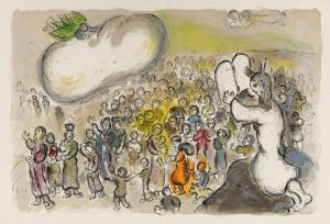 Marc Chagall The Story Of The Exodus - Version 2