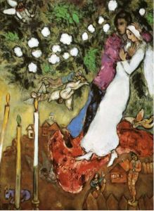 Marc Chagall The Three Candles