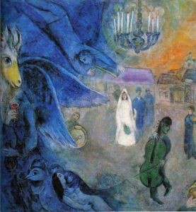 Marc Chagall The Wedding Candles