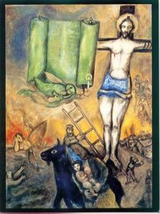 Marc Chagall The Yellow Crucifixion