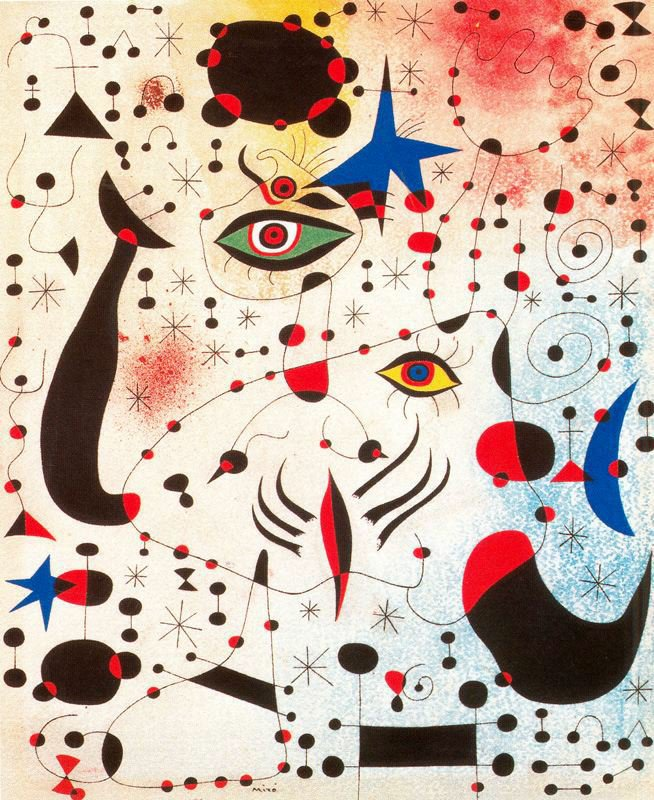 Miro Ciphers And Constellations In Love