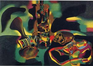 Miro Still Life With Old Shoe
