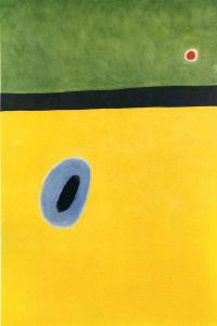 Miro The Lark S Wing Encircled With Golden Blue Rejoins The Heart Of The Poppy Sleeping On A Diamond.jpg Hd