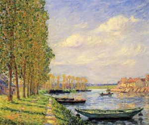 Picabia A Canal At St. Mammes