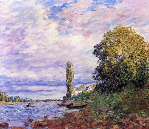 Picabia The Effect Of Sunlight On The Banks Of The Loing