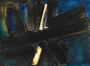 Pierre Soulages 2 Avril 1957